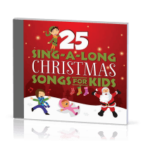 25 Sing-a-long Christmas Songs for Kids - CD